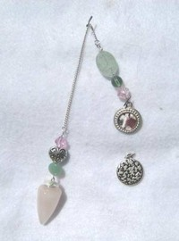 HeartTalk® Pendulum - Rose Quartz